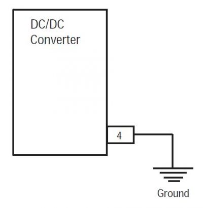 Eaton Fiuller transmission DC Converter to Ground