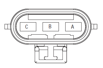 ECA 3-way connector fuller tranmission