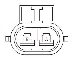 Eaton Fuller transmission gear select motor harness