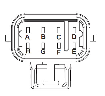 ECA 8-Way Connector