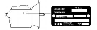 Keskialueen Eaton Fuller lähetyksen malli ID